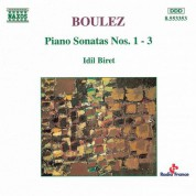 Boulez: Piano Sonatas Nos. 1-3 - CD