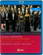 Dorothea Röschmann, Elina Garanca, Klaus Florian Vogt, Rene Pape, Wiener Philharmoniker, Daniel Barenboim: Salzburg Festival Opening Concert 2010 - BluRay