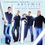 Artemis Quartett, Leif Ove Andsnes: Schumann/ Brahms: Piano Quintets - CD
