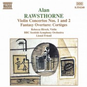 Rawsthorne: Violin Concertos Nos. 1 and 2 / Corteges - CD