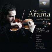 Matthieu Arama, Aurélien Pontier: Violin Showcase - CD