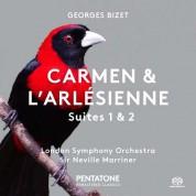 Sir Neville Marriner, London Symphony Orchestra: Bizet: Carmen & L'Arlésienne, Suites 1 & 2 - SACD