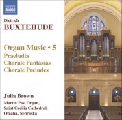 Julia Brown: Buxtehude: Organ Music, Vol. 5 - CD