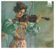 Isabelle Faust, Alexander Melnikov: Weber: Sonatas for Piano & Violin, Piano Quartet - CD