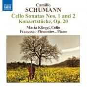 Maria Kliegel: Camillo Schumann: Cello Sonatas Nos. 1 and 2 - CD