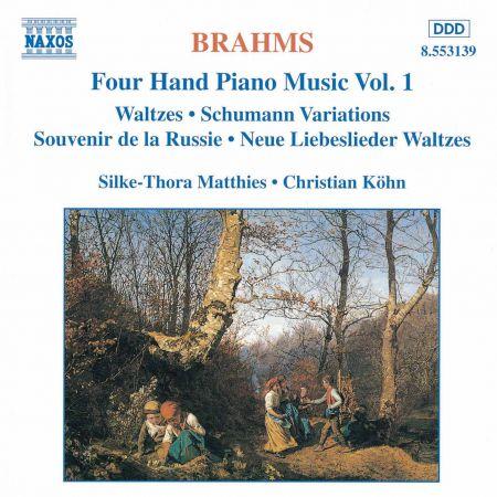 Christian Kohn, Silke-Thora Matthies: Brahms: Four-Hand Piano Music, Vol.  1 - CD