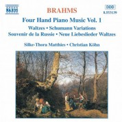 Christian Kohn, Silke-Thora Matthies: Brahms: Four-Hand Piano Music, Vol.  1 - CD