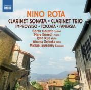 Goran Gojevic, Mary Kenedi, Lynn Kuo, Michael Sweeney, Winona Zelenka: Rota: Clarinet Sonata - Clarinet Trio - CD