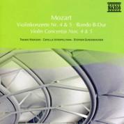 Takako Nishizaki: Mozart: Violin Concertos Nos. 4  and 5 / Rondo - CD