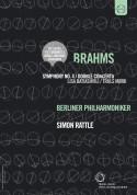 Lisa Batiashvili, Truls Mørk, Berliner Philharmoniker, Sir Simon Rattle: Europakonzert 2007- Brahms: Symphony No. 4 (DVD & BD CATALOGUE) - DVD