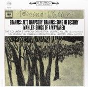 Bruno Walter, Columbia Symphony Orchestra, Mildred Miller: Brahms, Mahler: Alto Rhapsody - Song Of Destiny, Songs Of A Wayfarer - Plak