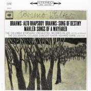 Bruno Walter, Columbia Symphony Orchestra, Mildred Miller: Brahms, Mahler: Alto Rhapsody - Song Of Destiny, Songs Of A Wayfarer - Plak