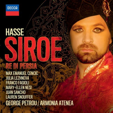 Max Emanuel Cencic, George Petrou, Julia Lezhneva: Hasse: Siroe - CD