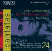Bach Collegium Japan, Masaaki Suzuki: J.S. Bach: Cantatas, Vol. 24 (BWV 8, 33 and 113) - CD