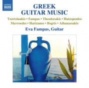 Eva Fampas: Greek Guitar Music - CD
