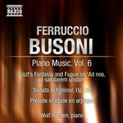 Wolf Harden: Busoni: Piano Music, Vol.  6 - CD