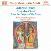 Adorate Deum / Gregorian Chant From the Proper of the Mass - CD