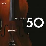 Çeşitli Sanatçılar: 50 Best Violin - CD