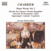 Chabrier: Piano Works, Vol. 2 - CD