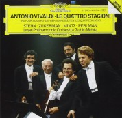 Israel Philharmonic Orchestra, Shlomo Mintz, Itzhak Perlman, Isaac Stern, Zubin Mehta, Pinchas Zukerman: Vivaldi: The Four Seasons - CD