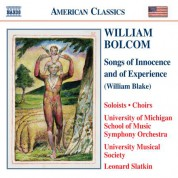 Bolcom: Songs of Innocence and of Experience - CD