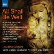Exultate Singers: All Shall be Well - CD