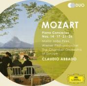 Chamber Orchestra of Europe, Claudio Abbado, Maria João Pires, Wiener Philharmoniker: Mozart: Piano Concertos Nos. 14, 17, 21, 26 - CD