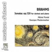 Michel Portal, Georges Pludermacher: Brahms: Sonatas op.120 for clarinet and piano - CD