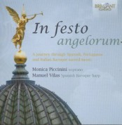 Monica Piccinini, Manuel Vilas: In Festo Angelorum - CD