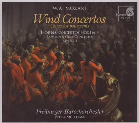 Freiburger Barockorchester, Petra Müllejans: Mozart: Wind Concertos - CD