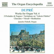 Dupre: Works for Organ, Vol.  4 - CD