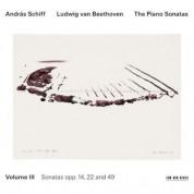 András Schiff: Ludwig van Beethoven: The Piano Sonatas, Volume III - CD
