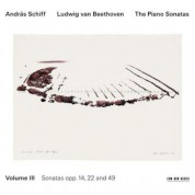 András Schiff: Ludwig van Beethoven: The Piano Sonatas, Volume III - CD