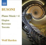Wolf Harden: Busoni: Piano Music, Vol.  4 - CD