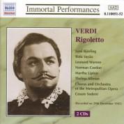 Verdi: Rigoletto (Bjorling, Sayao, Warren) (1945) - CD