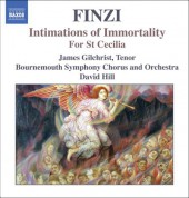 Finzi: Intimations of Immortality / for St Cecilia - CD