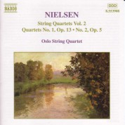 Nielsen, C.: String Quartets, Vol.  2 - CD