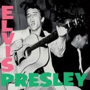 Elvis Presley: Debut Album + 4 Bonus Tracks! Limited Edition In Transparent Green Colored Vinyl. - Plak
