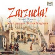José Carreras, Teresa Berganza, English Chamber Orchestra, Antoni Ros-Marbà, Enrique Garcia Asensio: Zarzuela: Spanish Operetta - CD
