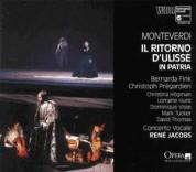 René Jacobs, Concerto Vocale: Monteverdi: Il ritorno d'Ulisse in patria - CD