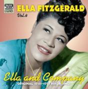 Ella Fitzgerald: Fitzgerald, Ella: Ella And Company (1943-1951) - CD