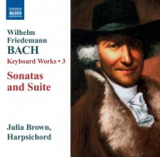 Julia Brown: W.F. Bach: Keyboard Sonatas - CD