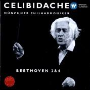Münchner Philharmoniker, Sergiu Celibidache: Beethoven: Symphonies No. 2, 4 - CD