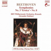 Belgian Radio and Television Philharmonic Orchestra: Beethoven: Symphonies Nos. 3 and 8 - CD