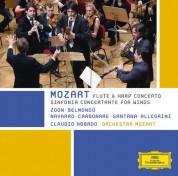 Alessio Allegrini, Letizia Belmondo, Alessandro Carbonare, Claudio Abbado, Macías Navarro, Orchestra Mozart, Guilhaume Santana, Jacques Zoon: Mozart: Concerto For Flute And Harp - CD