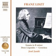 Liszt: Piano Sonata / 2 Legendes / Gretchen - CD