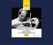 Martha Argerich, Oleg Maisenberg, Valery Afanassiev: Gidon Kremer - Violin Sonatas - CD