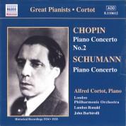 Alfred Cortot: Chopin / Schumann: Piano Concertos (Cortot) (1934-1935) - CD