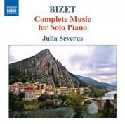 Julia Severus: Bizet: Complete Piano Music - CD