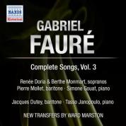 Renee Doria: Faure: Complete Songs, Vol. 3 - CD